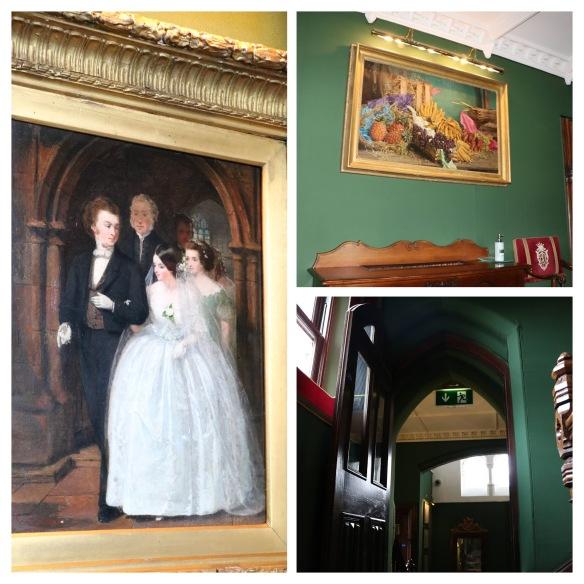 artwork at Ashford castle