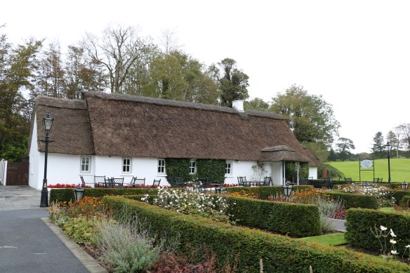 Cullen's at the Cottage, a traditional thatched cottage