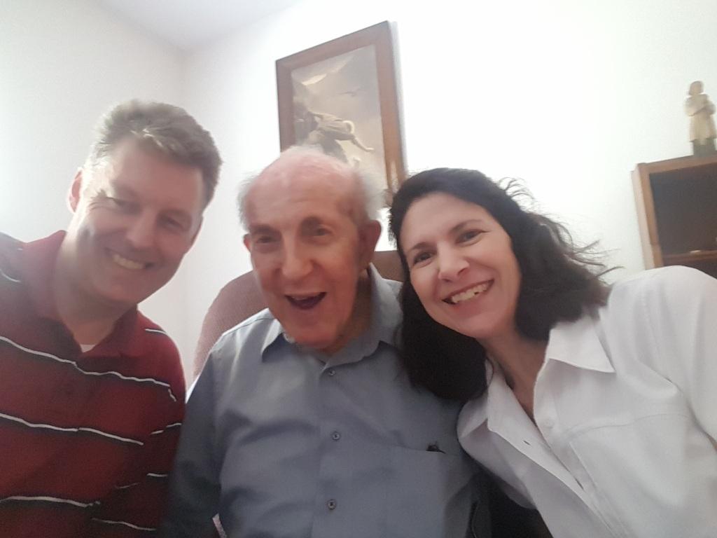 Páraic, Monsignor and Dana